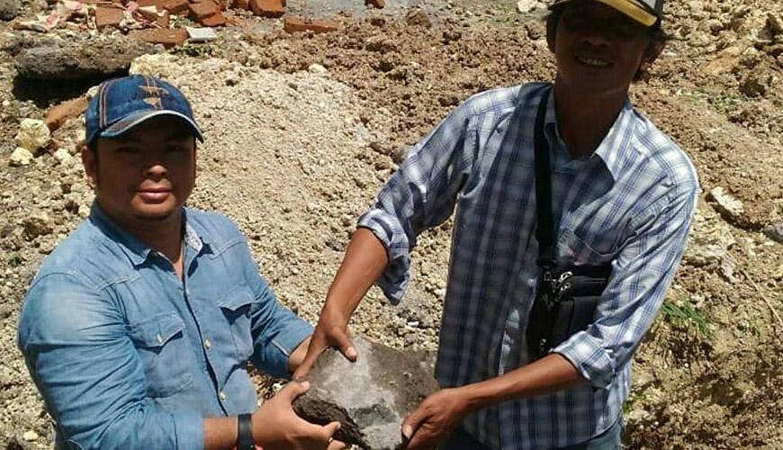 Peletakan Batu Pertama Villa Gardenia Kavling K.09
